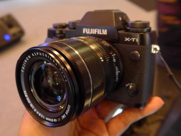 Fuji X-T1 lens